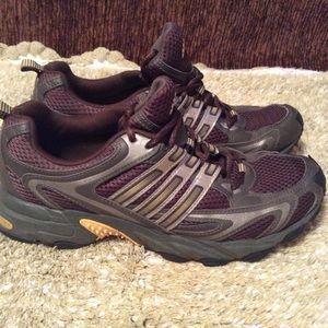 Adidas Sneakers Brown Yellow Sz 8.5